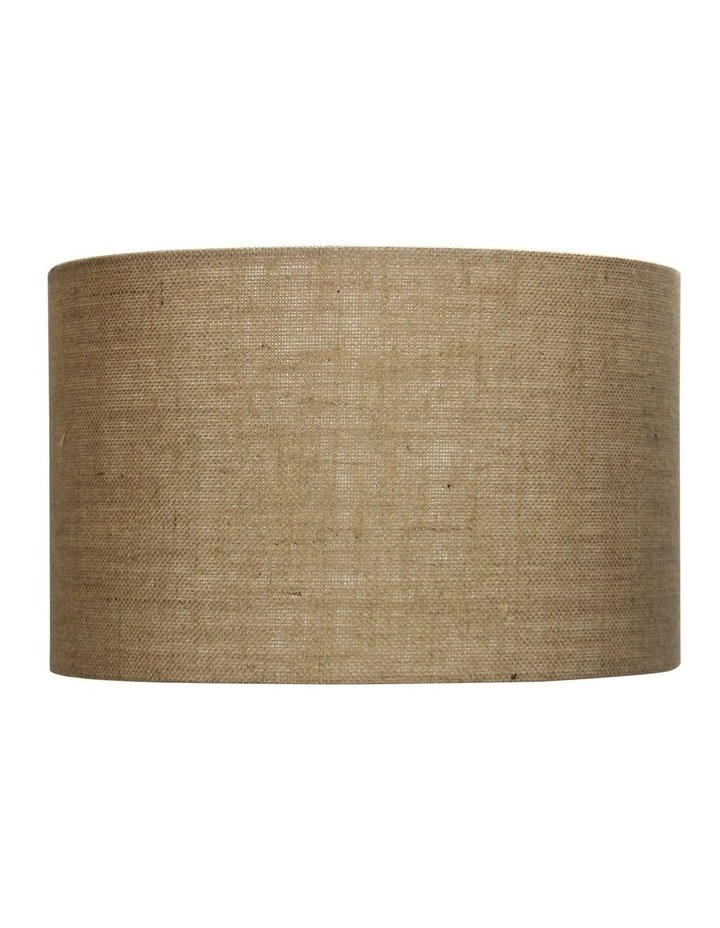 40cm Lamp Drum Shade - Hessian image 1