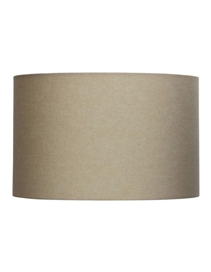 40cm Lamp Drum Shade - Canvas Burlap image 1