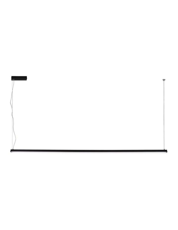 Shard 1800 Led Pendant Black image 1