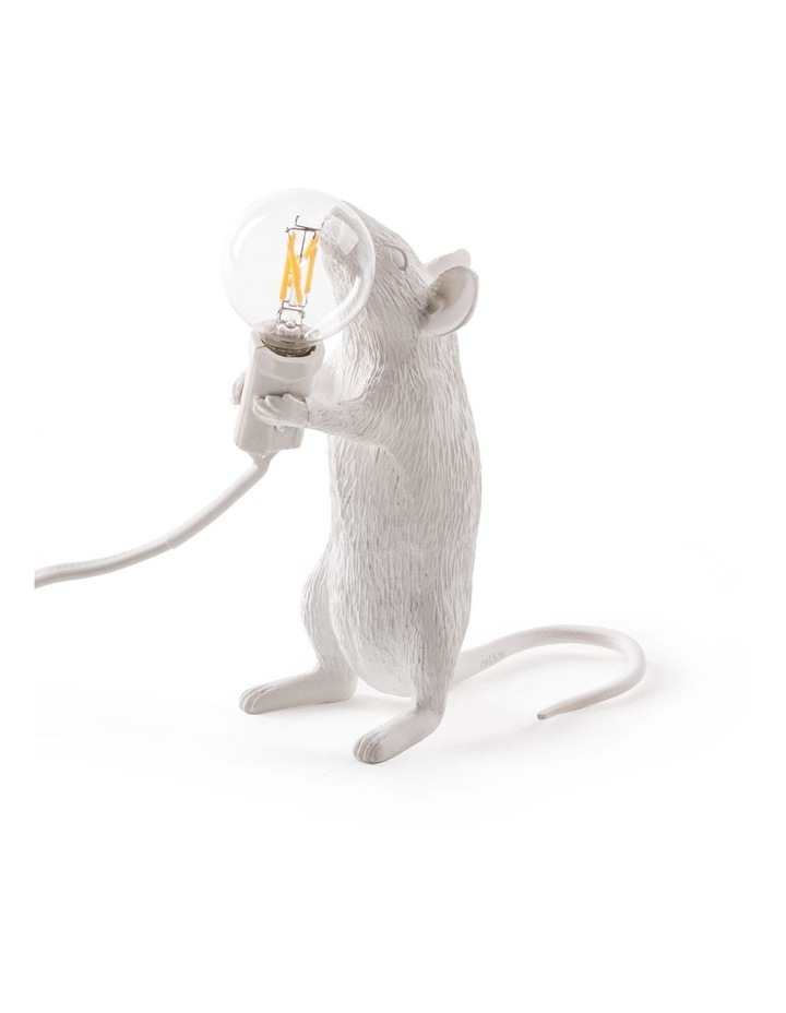 Mouse Lamp Standing - White image 1
