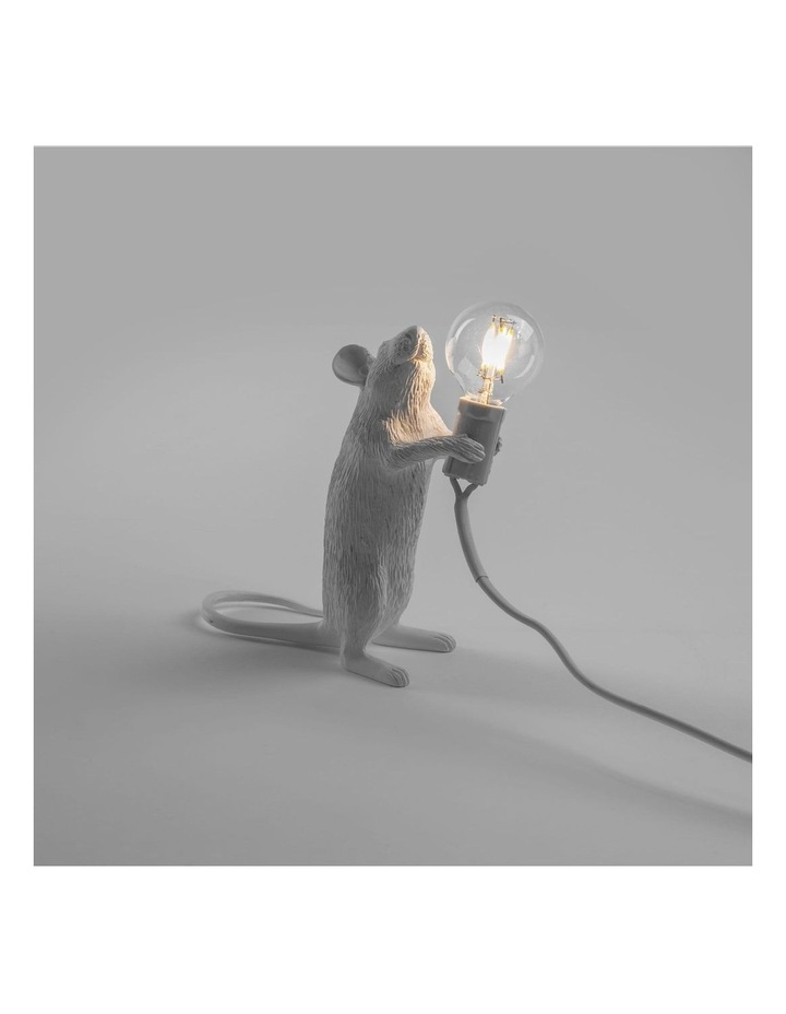 Mouse Lamp Standing - White image 2