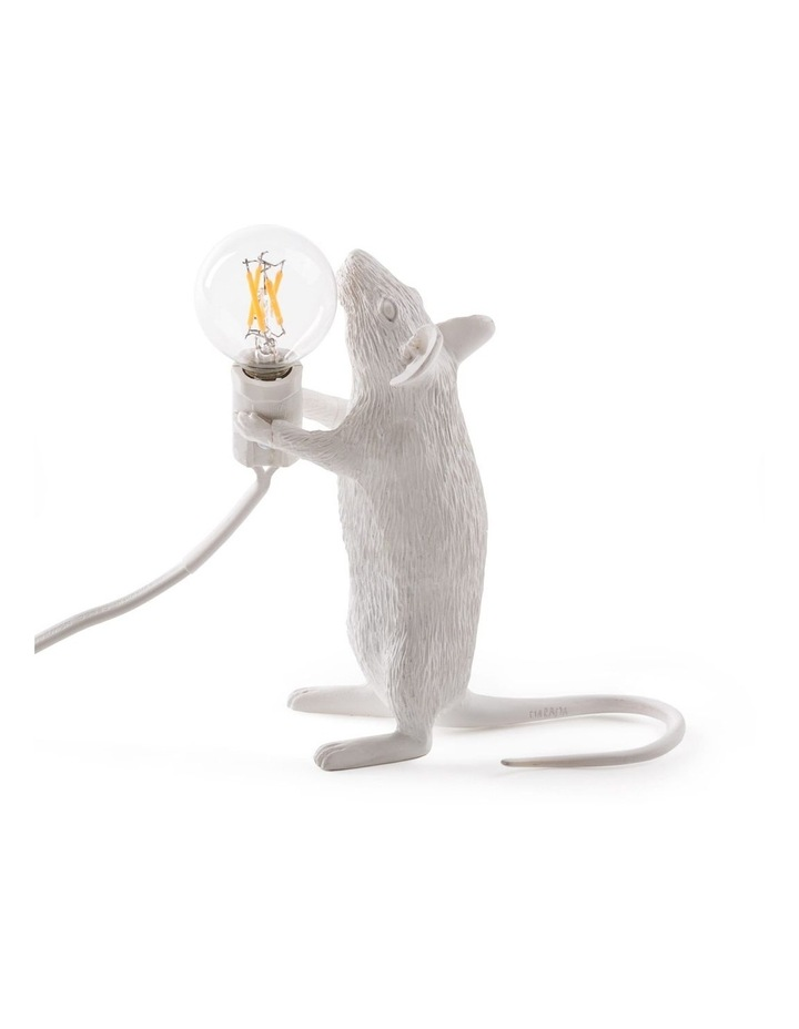 Mouse Lamp Standing - White image 4