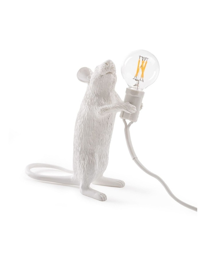 Mouse Lamp Standing - White image 5
