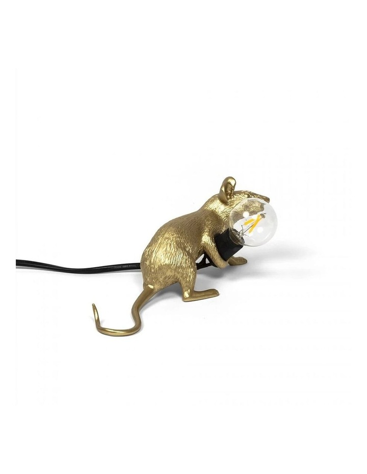 Mouse Lamp Lying - Gold Lop image 3