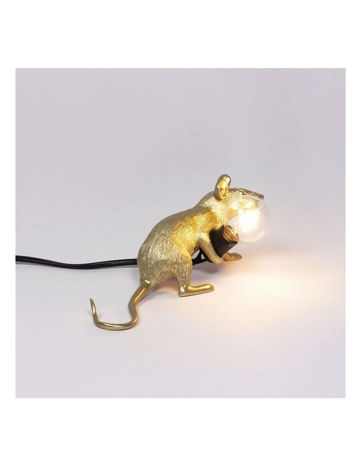 Mouse Lamp Lying - Gold Lop image 4