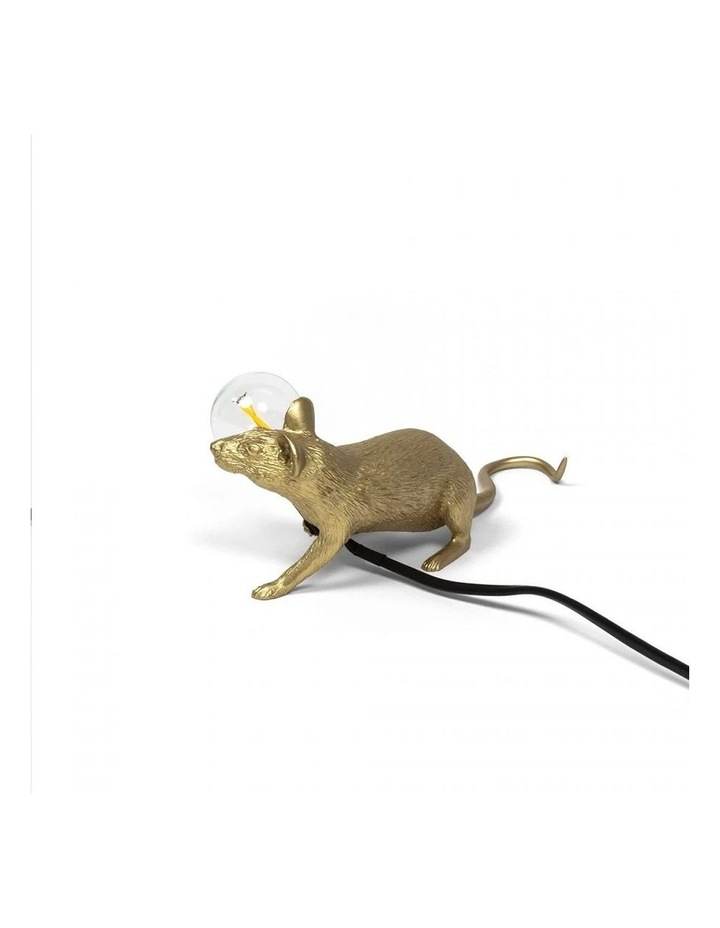 Mouse Lamp Lying - Gold Lop image 5