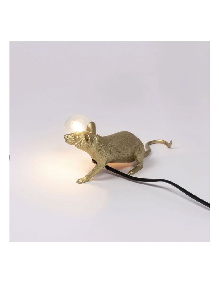 Mouse Lamp Lying - Gold Lop image 6
