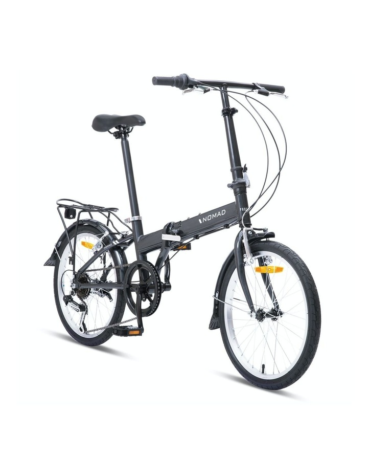"""Nomad Folding Bike 20"""" Grey image 1"""