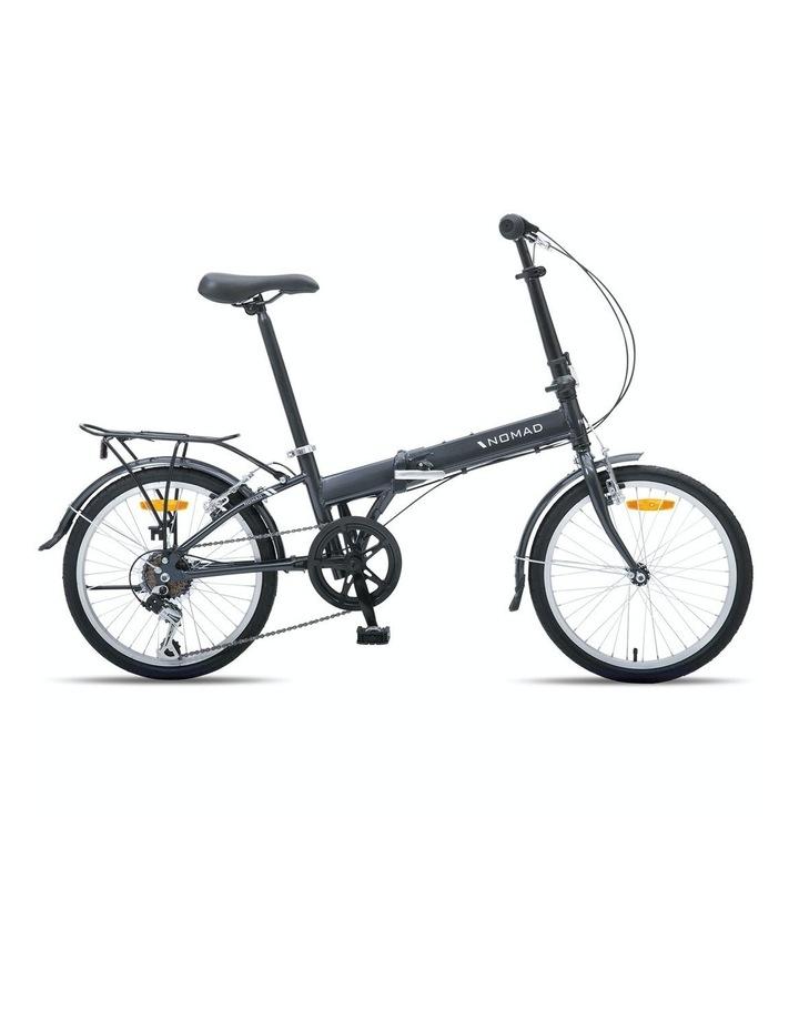 """Nomad Folding Bike 20"""" Grey image 2"""