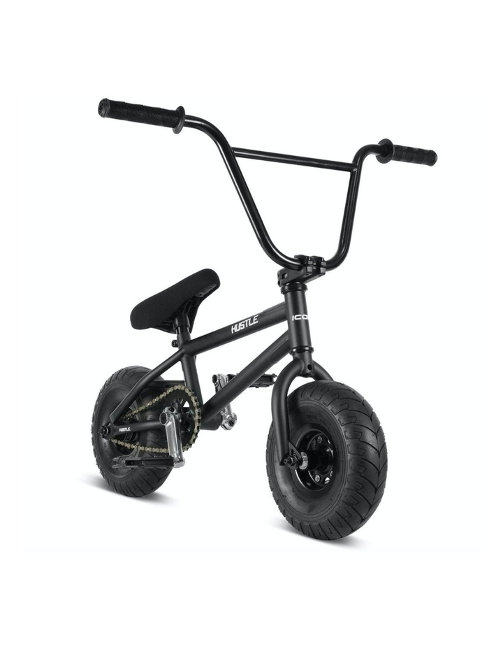 Hustle BMX Stunt Bike Matt Black image 1