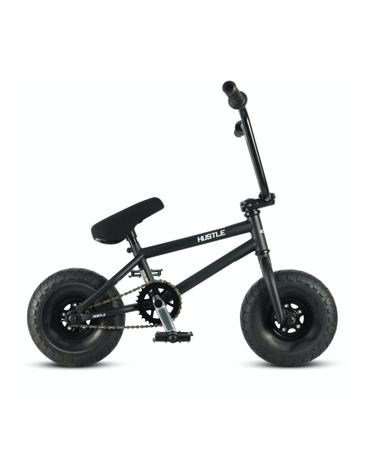 Hustle BMX Stunt Bike Matt Black image 2