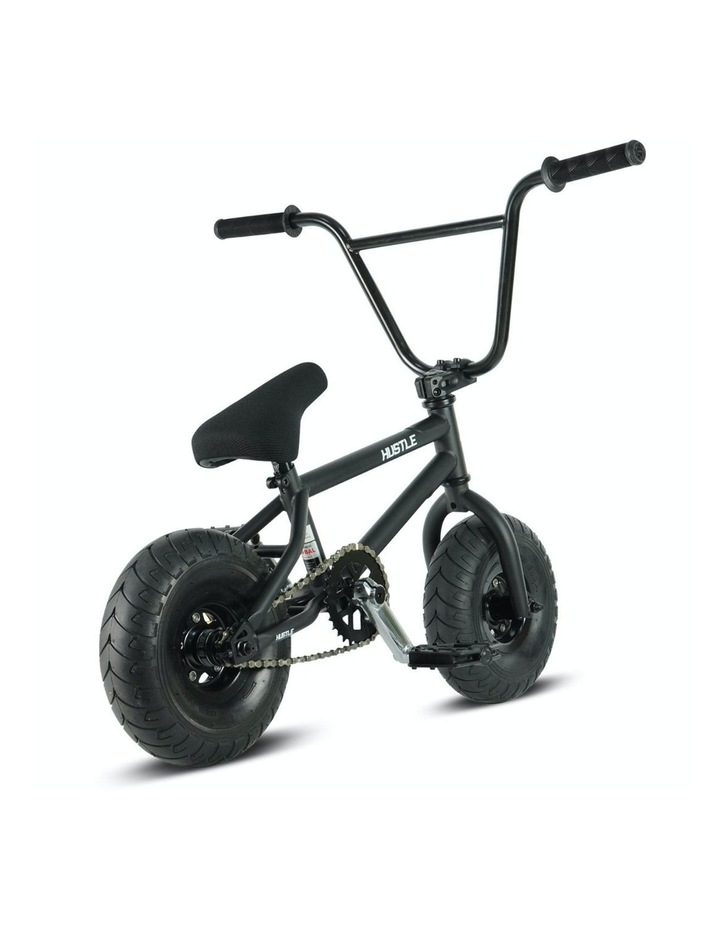 Hustle BMX Stunt Bike Matt Black image 3