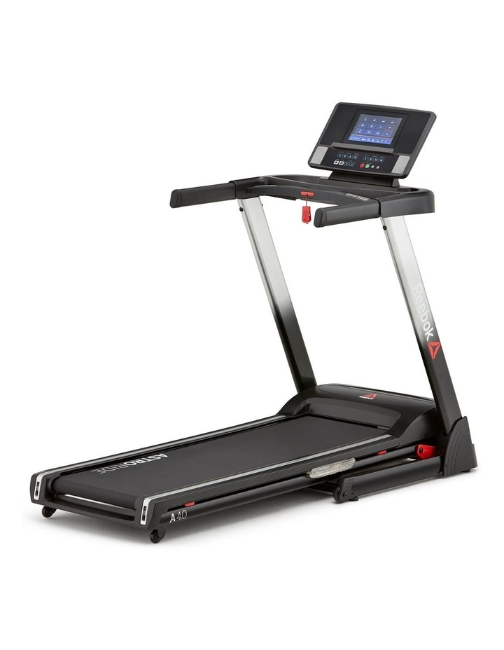 Reebok A4.0 Treadmill   TFT - Silver image 1