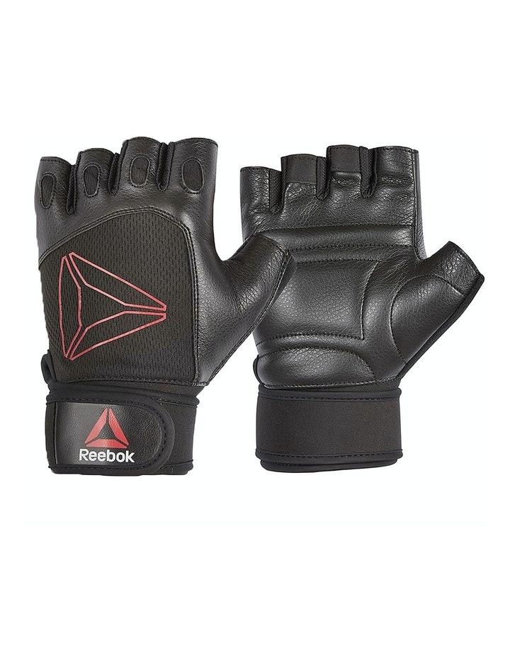 Reebok Lifting Gloves - Black, Red/Large image 1