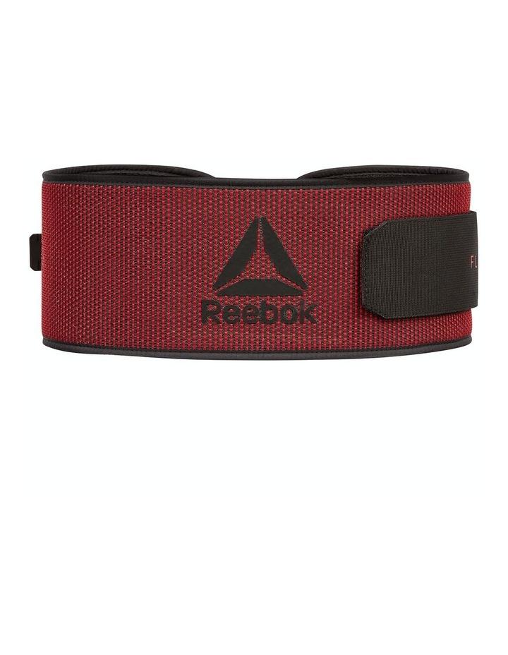 Reebok Flexweave Power Lifting Belt - Red/Small image 1