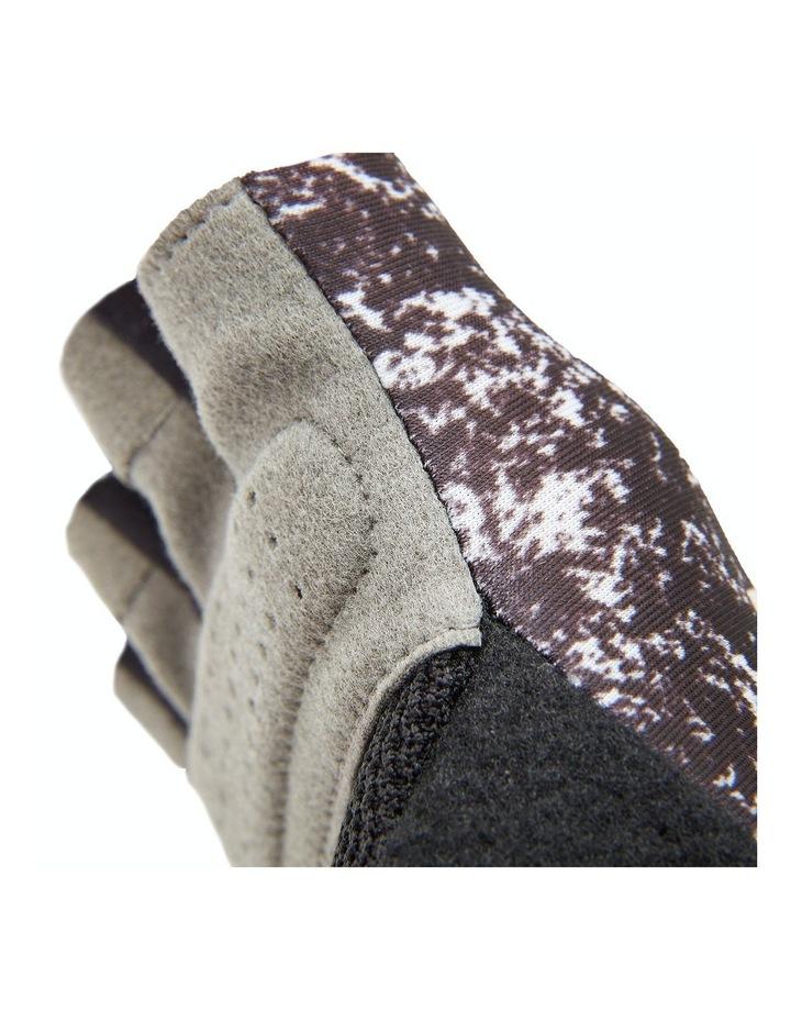 Reebok Womens Fitness Gloves - Black & White/Small image 3