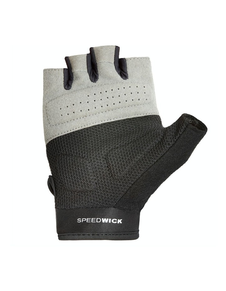 Reebok Womens Fitness Gloves - Black & White/Medium image 2