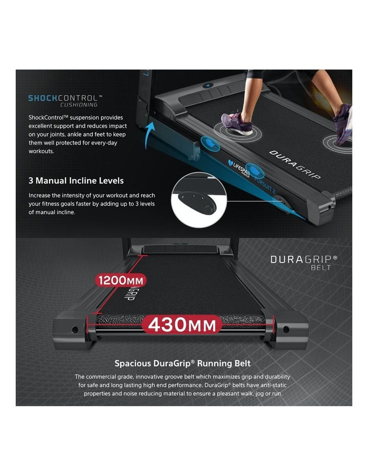 Pursuit Treadmill with FitLink image 2