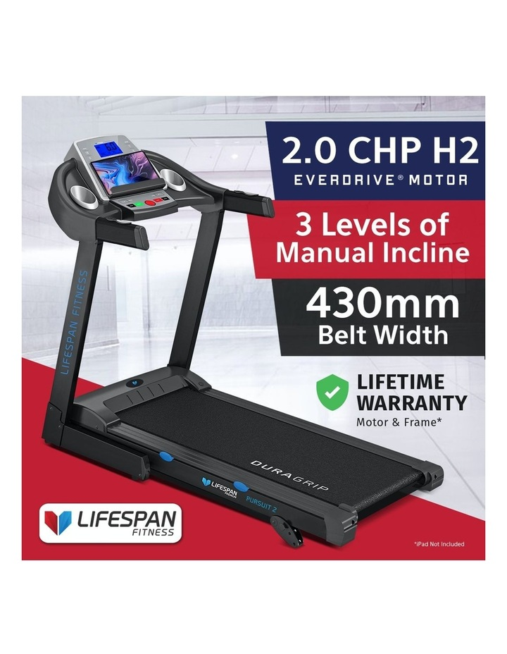Pursuit Treadmill with FitLink image 3