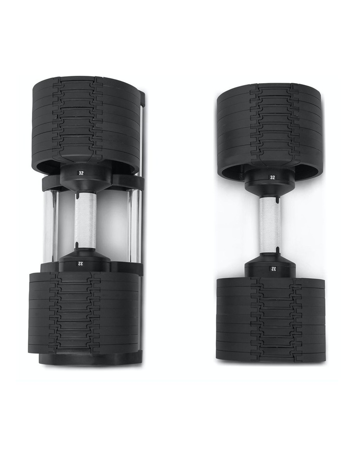 RevoLock Adjustable 32kg Dumbbell Set of 2 image 2
