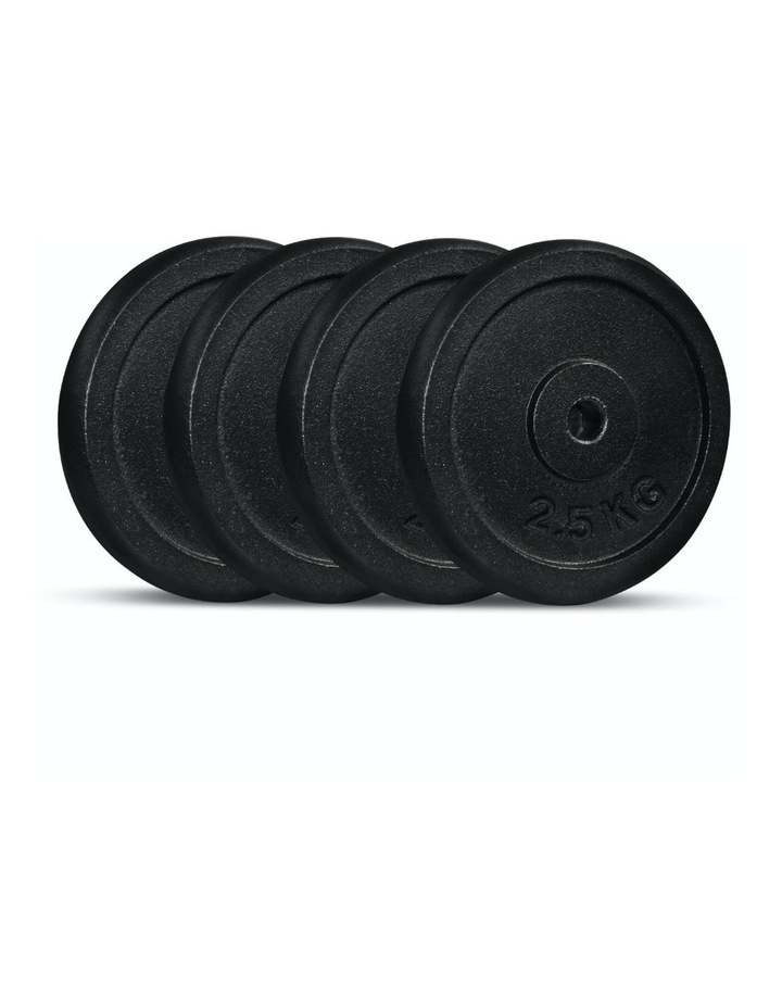 Cast Iron Weight Plate 4 pack 2.5kg image 1