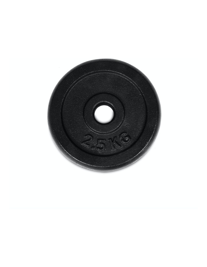 Cast Iron Weight Plate 4 pack 2.5kg image 2