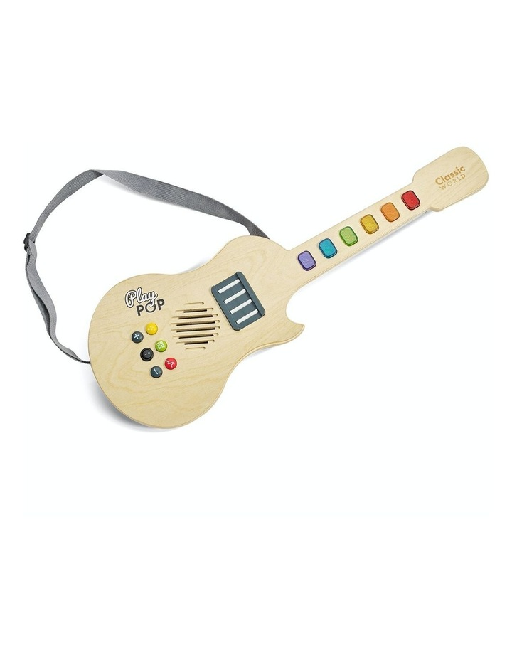 Classic World Electric Glowing Guitar image 1