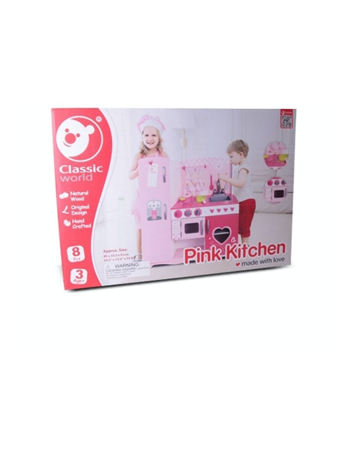Pink Kitchen by Classic World Pink image 3