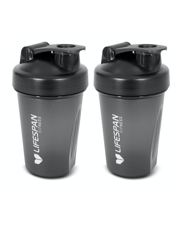 Shaker Bottle 500ml Pack of 2 Black image 1