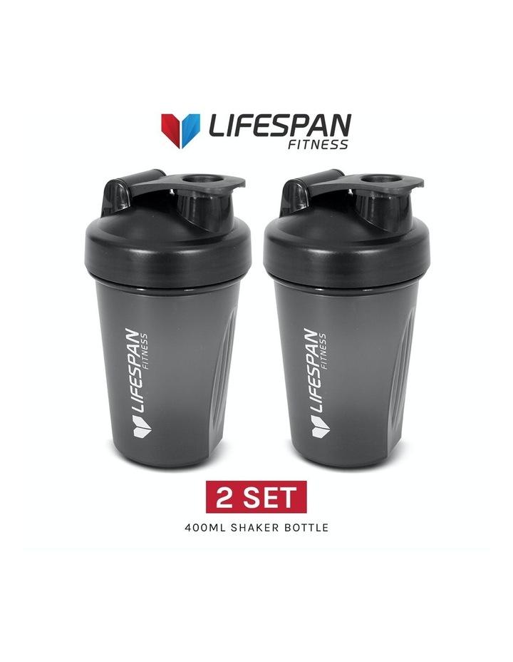 Shaker Bottle 500ml Pack of 2 Black image 6