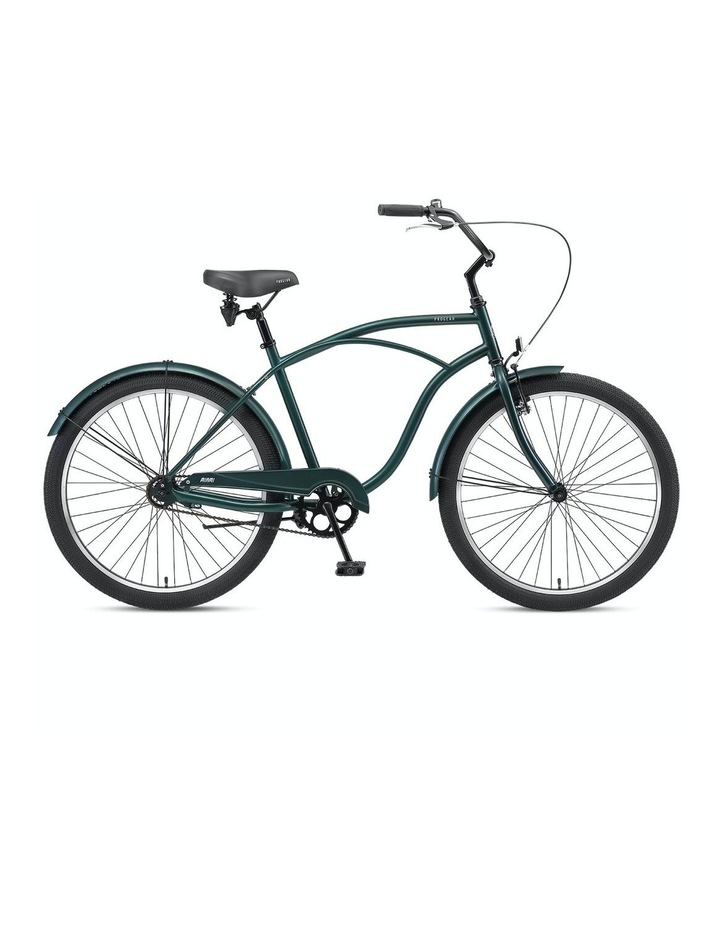 "Miami S1 Mens Cruiser Bike 26*19"" - Forest Green image 1"