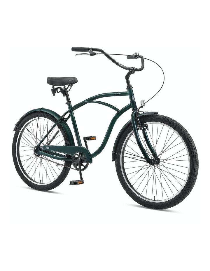 "Miami S1 Mens Cruiser Bike 26*19"" - Forest Green image 2"