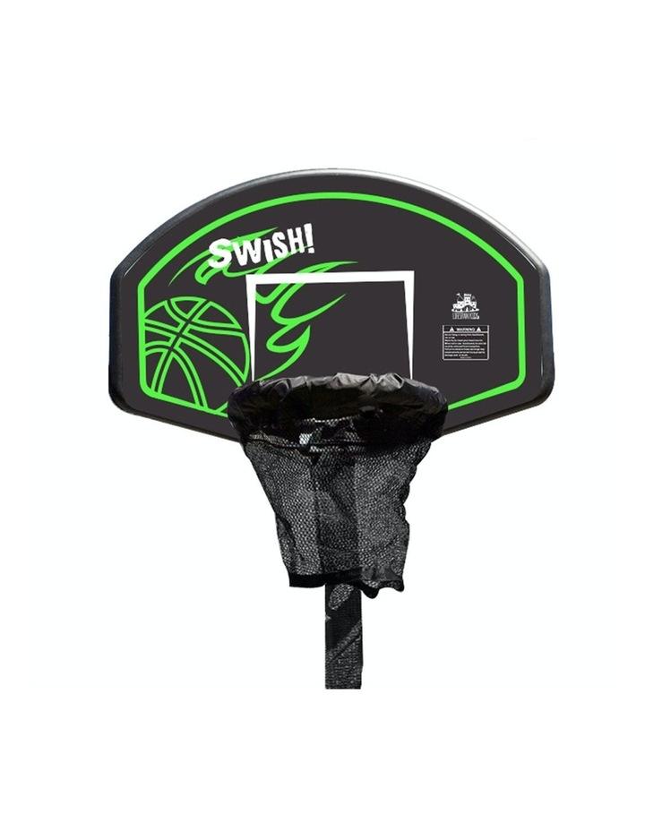 Swish Trampoline Basketball Ring image 1
