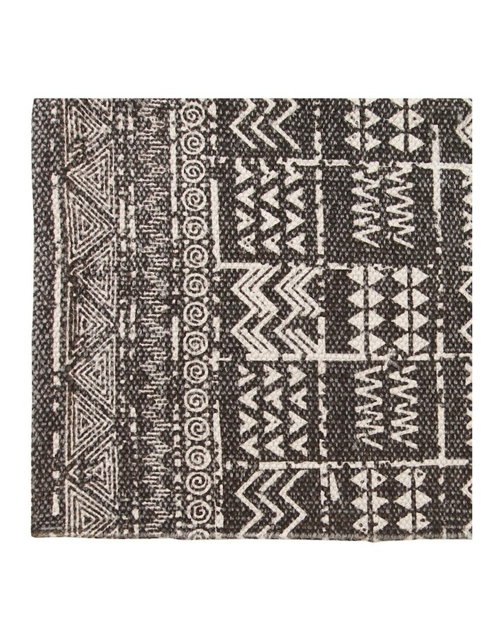 Mudcloth Tribal Runner Latte image 3