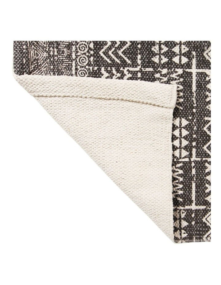 Mudcloth Tribal Runner Latte image 4