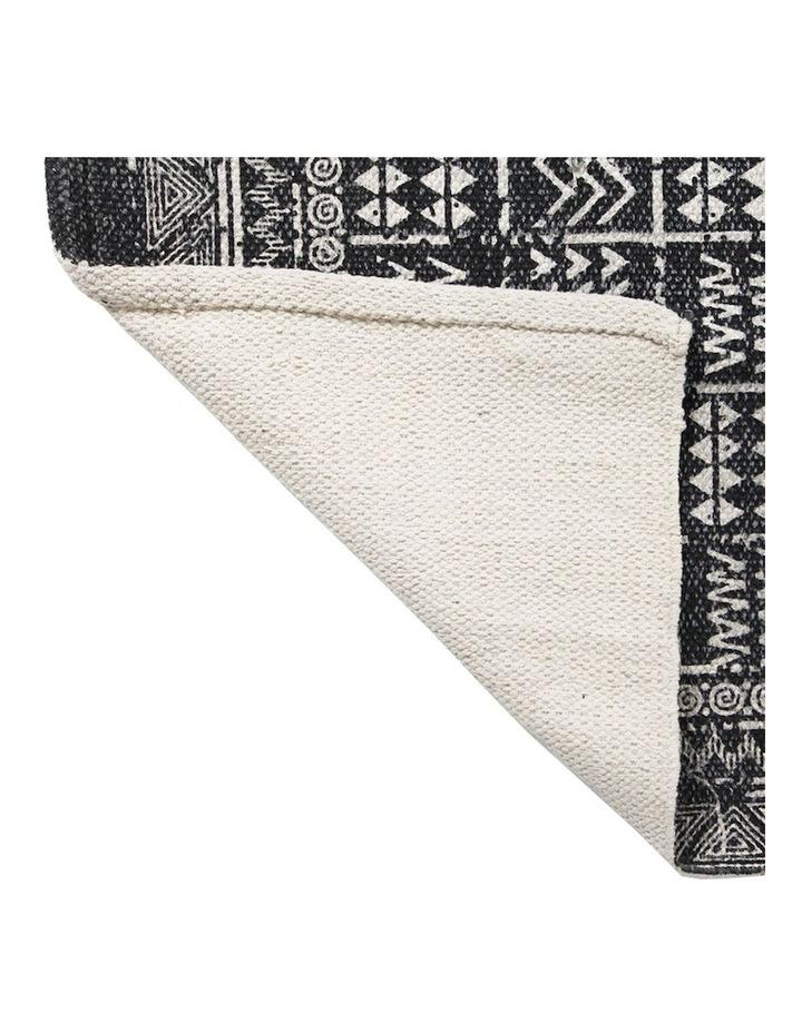 Mudcloth Tribal Rug Charcoal image 5
