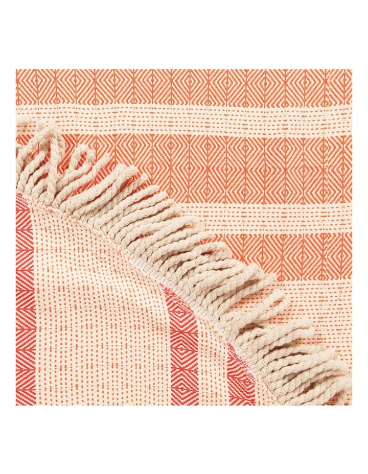Roundie Beach Rug Red and; Orange image 5