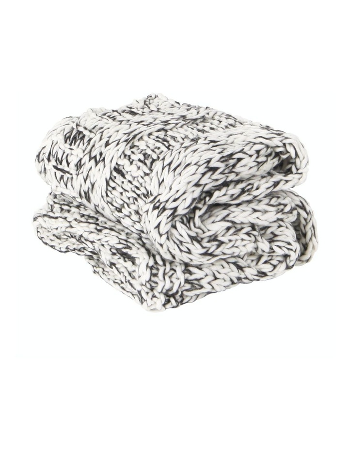Claudette Chunky Knit Throw image 1