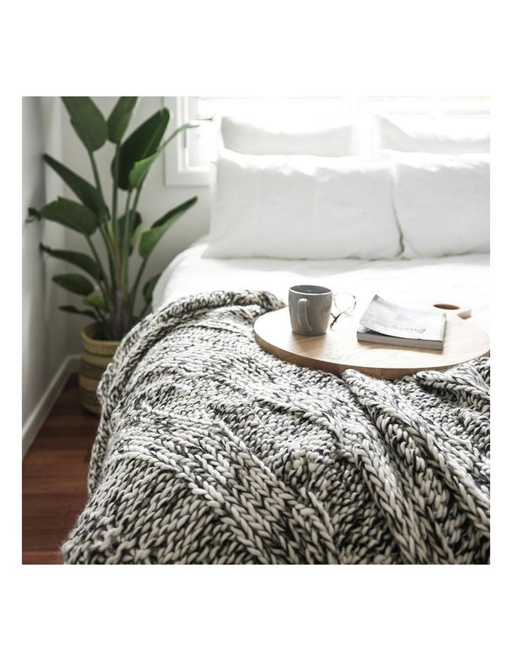 Claudette Chunky Knit Throw image 2