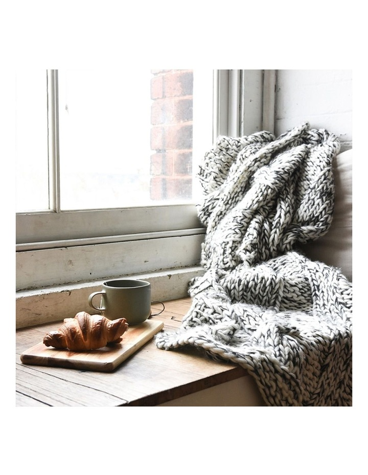 Claudette Chunky Knit Throw image 3