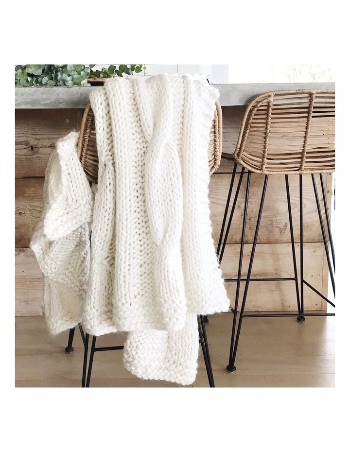 Claudette Chunky Knit Throw image 5