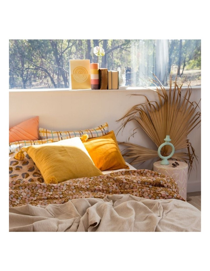 Harper Moroccan Cushion Gold image 2
