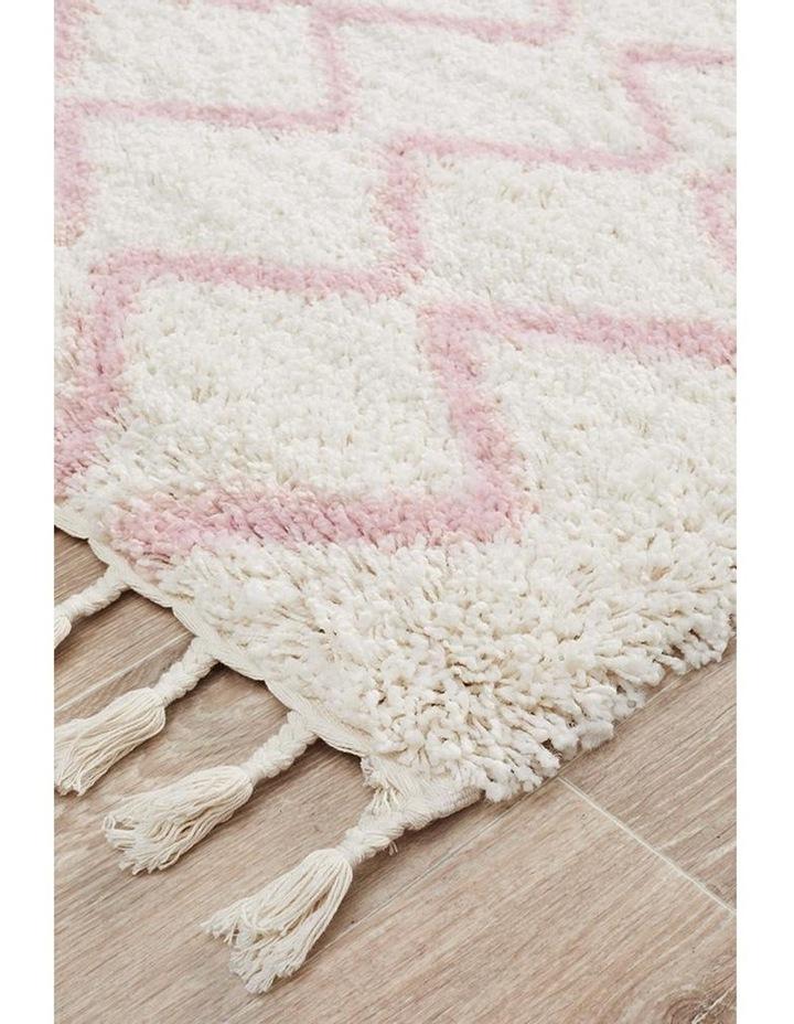 Saffron 11 Pink Runner Rug image 2