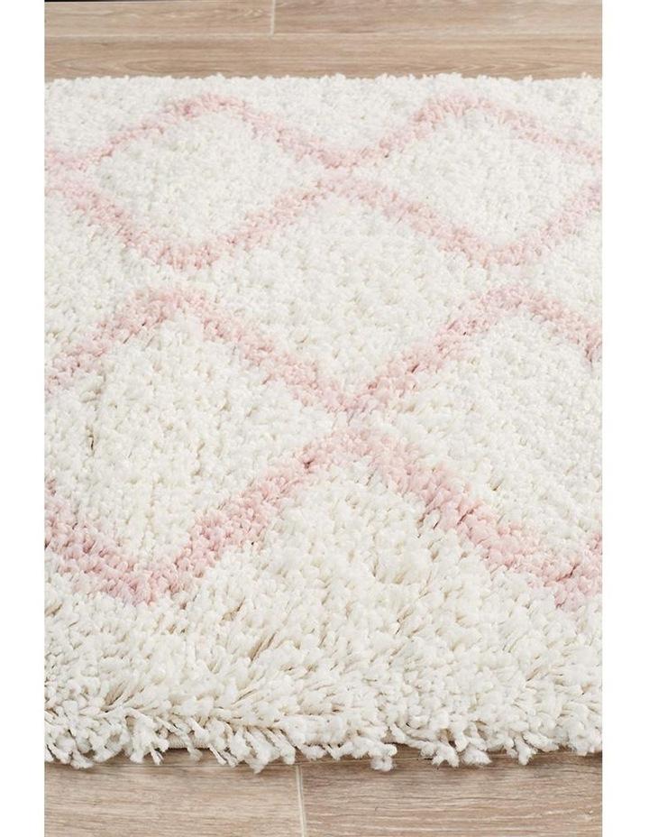 Saffron 11 Pink Runner Rug image 4