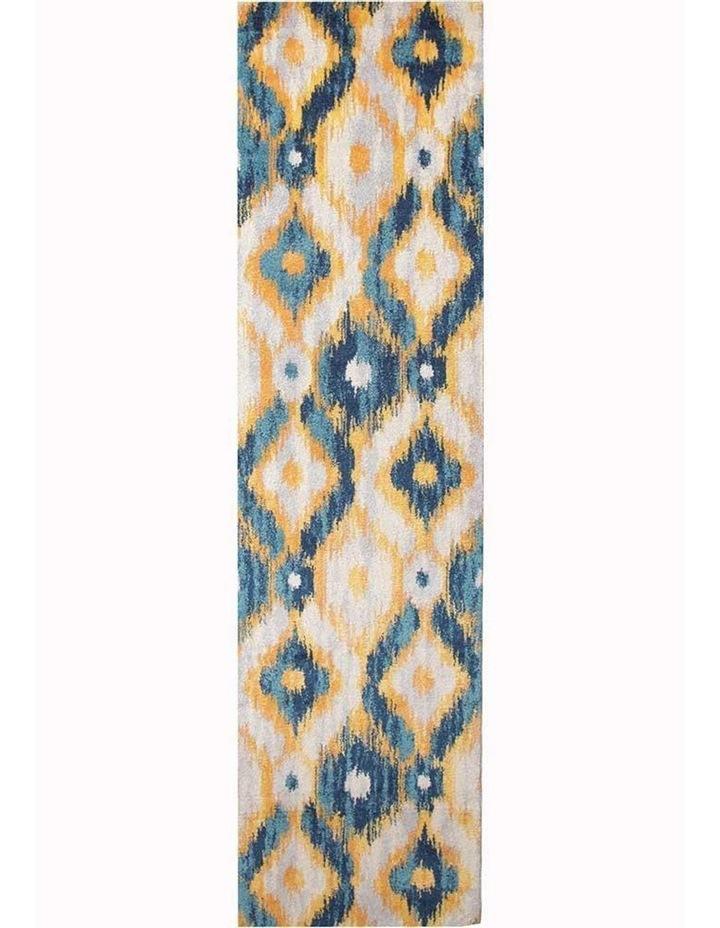 Dimensions Divinity Burst Blue Modern Rug image 1