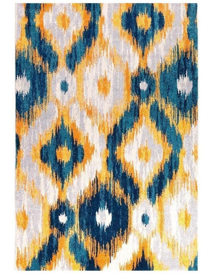 Dimensions Divinity Burst Blue Modern Rug image 2