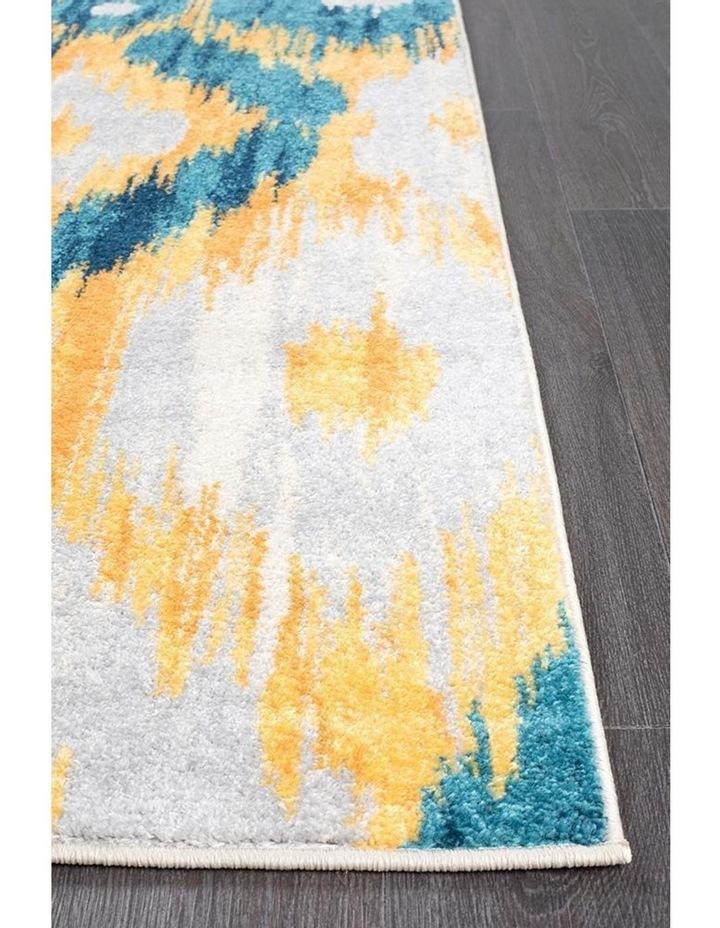 Dimensions Divinity Burst Blue Modern Rug image 4
