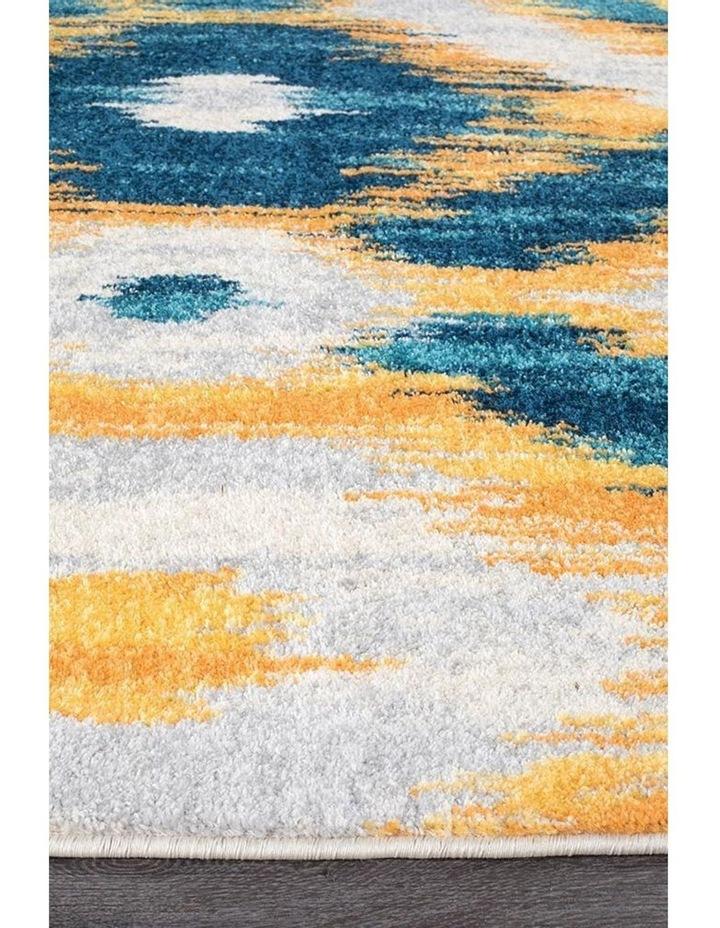 Dimensions Divinity Burst Blue Modern Rug image 5
