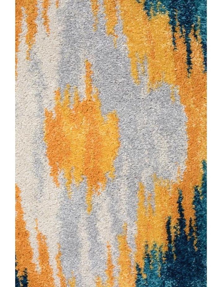 Dimensions Divinity Burst Blue Modern Rug image 6