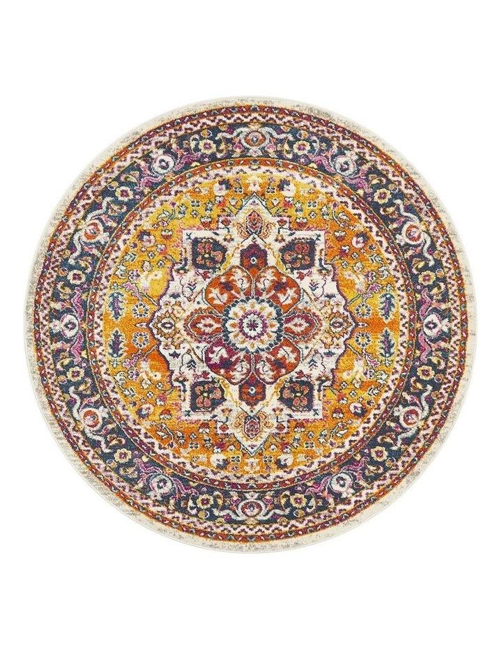 Babylon 207 Multi  Round Rug image 1
